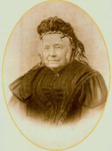 Jonkvrouwe Constantia Jacoba Agnes Warin bij haar 75-jarig jubileum als Ambachtsvrouwe voor Nederhorst den Berg in 1900. (Collectie Cees van Huisstede)